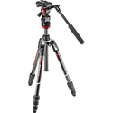 Manfrotto MVKBFRTC-LIVEUS Befree Live Carbon Fiber Twist Lock Tripod and Video Head