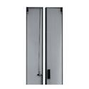 Middle Atlantic CLVRD-WMRK-42 42SP LG Perf Split Rear Door - Black