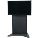 Middle Atlantic FVS-800ES-BK Flexview Electric Lift TV Display Cart  - Stationary with Levelers - Vesa 800 Mount - Black