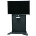 Middle Atlantic FVS-800S-BK Flexview Single Display Cart - 42 To 80 Inch Monitor - Black
