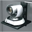 Middle Atlantic FVS-CMTB-128-BK Flexview Camera Mount - Fits Flexview Cart/Stand - Black Powdercoat