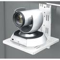 Middle Atlantic FVS-CMTB-128-WH Flexview Camera Mount - Fits Flexview Cart/Stand - White Powdercoat