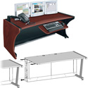 Middle Atlantic LD-4830DC-RA -  LCD Monitoring Desk w/Right Bay - Dark Cherry (48in Width)
