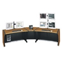 Middle Atlantic LD-4830DC - 48 Inch LCD Desk - 30H Dark Cherry