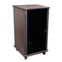 Middle Atlantic RFR-1628BR RFR Reference Series Furniture Rack - Black Rain