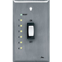 Middle Atlantic USC-SWL Remote Wall Plate Switch with LEDs