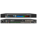 Marshall AR-DM61-BT Multi-Channel Digital Audio Monitor with Built-In Live Video Preview Confidence Screen