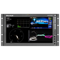 Marshall V-R173-DLW 17 Inch Native HD Resolution IMD LCD RM Monitor - Waveform & Vectorscope Displays