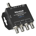 Marshall VDA-104-3GS 1x4 3G/HD/SD-SDI Reclocking Distribution Amplifier