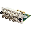 ARDM-AES-BNC 4 Unbalanced BNC AES/EBU Inputs w/Loop-Thru Audio Module