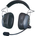 Riedel MAX-D1 Single-Ear Radio Headset for High-Noise with Rotatable Boom - Dynamic Microphone (Bi-Directional) - XLR4F