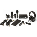 Mackie PRODUCER BUNDLE with Onyx Producer Interface / EM89D Dynamic Mic / EM91C Condenser Mic & MC-100 Headphones