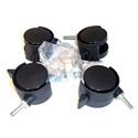 Caster Base Kit For Multidesk R12 side rack