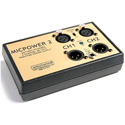 Whirlwind MICPOWER Dual Portable Phantom Power Supply