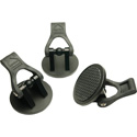 Miller 478 HD Rubber Foot Pads Set of 3 for HD Tripods and HD MB Tripods with Above Ground Spreaders