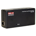 MIL-L100I-NA Poe 1-Port Injector Power Over Ethernet Injector