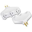 Milspec D10100002 TripleTap Power Block Adapter (White)