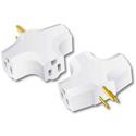 Milspec D10102002 90 Degree TripleTap Adapter (White)
