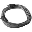 Milspec D11821025 Premium Low Profile 12/3 SPT-3 FLAT Extension Cord - Black - 25 Foot