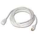 Milspec D14512015 ProPower Cordset 12/3 AC Extension Cord White - 15 Foot