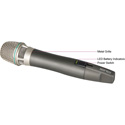 Mipro ACT-24HC Rechargeable Handheld Mic Transmitter for use with ACT-2401 and ACT-2402 Receivers