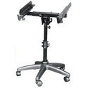 On Stage MIX-400 Mobile Equipment Stand