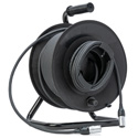 MarkerReel Connect-N-Go CAT6A Tactical Cable Reel with etherCON TOP RJ45 Connector Carriers - 150 Foot