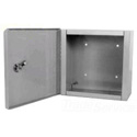 Milbank 10106-LC1 Indoor Surface Mount Hinged Cover Junction / Pull Box 10x10x6-Inches