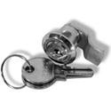 Milbank A-LKSFMKEYL Lock & Keylock Lockset SM FL Mount for LC1 Enclosures