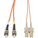 Camplex MMD62-ST-SC-001 62/125 Fiber Optic Patch Cable Multimode Duplex ST to SC - Orange - 1-Meter