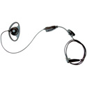 Motorola 56517 D-Ring Earpiece with In-line Clip PTT Mic