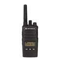 MotorolaRMU2080D Audible Channel Announcement w/Voice UHF 8-Channel 2-Watt Radio - Rechargeable Li-ion Battery