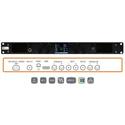 TSL Products MPA1-MIX-SDI-V 1RU SDI Audio Mixing Monitor with 2x SDI / 1x Stereo Analog Pair / 1x AES Input / HDMI Output