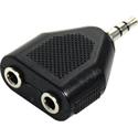 Connectronics Mini Stereo Male to Dual Mini Stereo Female Audio Adapter