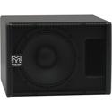 Martin Audio SX110B Slimline 10 Inch Compact Subwoofer - Black