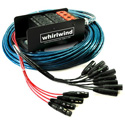 Whirlwind MS-12-4-XL-050 Snake - Box to Fan Medusa 12 XLR inputs 4 XLR returns 50 Feet W16PR