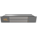 Matrix Switch MSC-2HD1624L 3G/HD/SD-SDI 16x24 2RU Routing Switcher -Button Ctrl