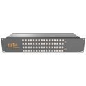 Matrix Switch MSC-2HD2408L 3G/HD/SD-SDI 24x8 2RU Routing Switcher -Button Ctrl