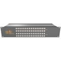 Matrix Switch MSC-2HD2424L 3G/HD/SD-SDI 24x24 2RU Routing Switcher -Button Ctrl