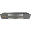 Matrix Switch MSC-2HD2432L 3G/HD/SD-SDI 24x32 2RU Routing Switcher -Button Ctrl