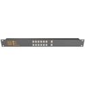 Matrix Switch MSC-CP12X1E 12x1 Elastomeric Remote Button Panel