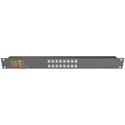 Matrix Switch MSC-CP16X1E 16x1 Elastomeric Remote Button Panel