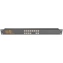 Matrix Switch MSC-CP8X4E 8x4 Elastomeric Remote Button Panel