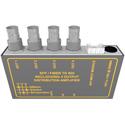 Matrix Switch MSC-FC1F4B 1 SFP Input 4 BNC Output 3G-SDI Converter (Fiber/Other SFP Modules not included)