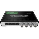 Matrix Switch MSC-FC4FB 4 SFP Input 4 BNC Output 3G-SDI Converter - Fiber or other SFP modules not included