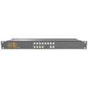 Matrix Switch MSC-HD84AAL 8 Input 4 Output 3G-SDI Video Router With Button Panel and Analog Audio