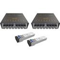 Matrix Switch MSC-SFL-107 8 Channel 3G-SDI - SDI/HDSDI Over Fiber Extender - Fiber Link Product Solution