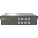 Matrix Switch MSC-TXD44L 4 Input 4 Output 3G-SDI Video Router with Button Panel