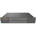 Matrix Switch MSC-XA3232L 32 Input 32 Output Analog Audio Router with Button Panel