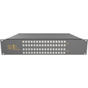 Matrix Switch MSC-XV3232L 32 Input 32 Output Composite Analog Video Router with Button Panel